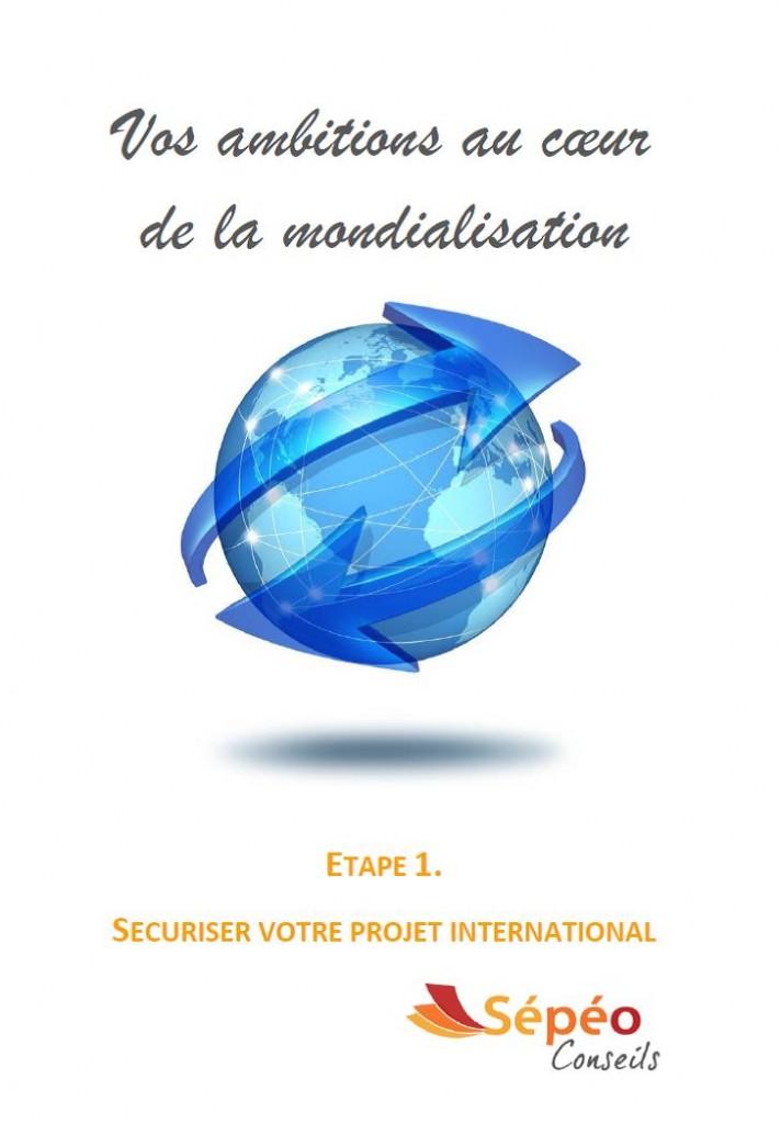 Vos ambitions au coeur de la mondialisation, réussir à l'international